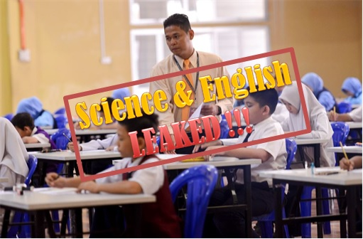 UPSR 2014 Science and English Papers Leakages