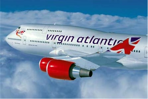 Virgin Airline Airplane