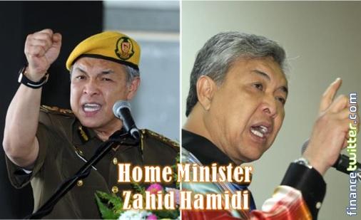 Zahid Hamidi - Home Minister