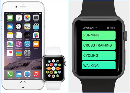 iPhone 6 - Watch - Workout