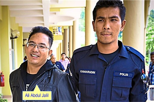 Ali Abdul Jalil - led by Police