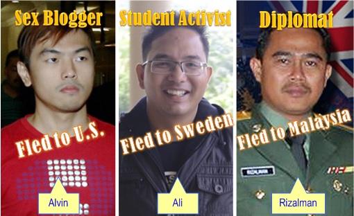 Alvin Tan - Ali Abdul Jalil - Mohd Rizalman - Comparison