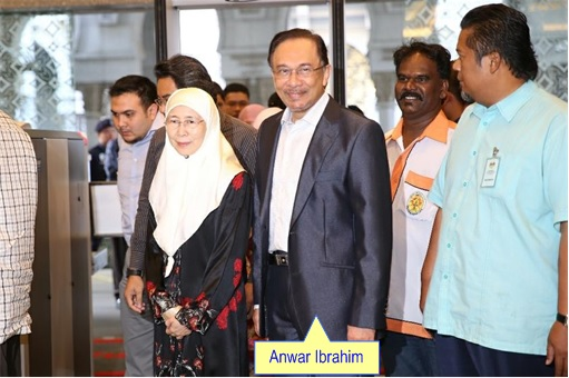 Anwar Sodomy Appeal - Anwar and Wife