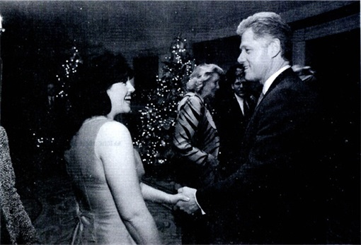Bill Clinton and Monica Lewinsky - Old Photo - 3