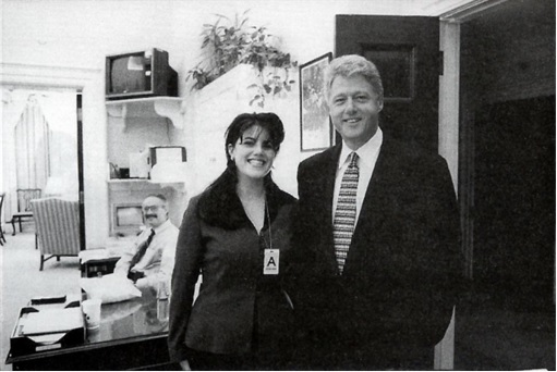 Bill Clinton and Monica Lewinsky - Old Photo - 4