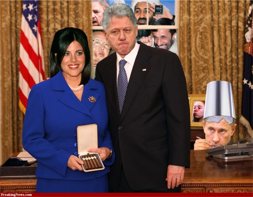 What time? monica lewinsky and bill clinton