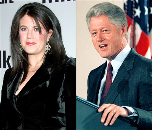 I Was In Love With President Clinton Lewinsky Blames