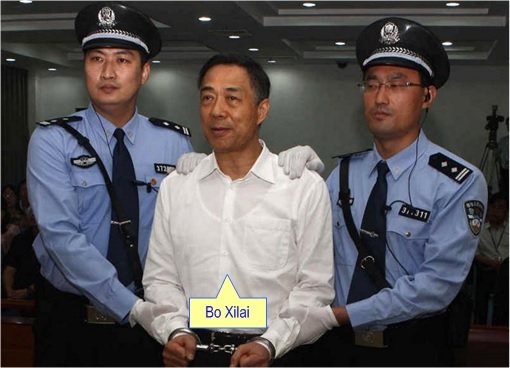 Bo Xilai - Handcuffed and Charged