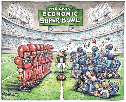China vs America - The Economic Super Bowl