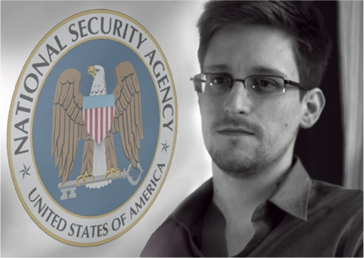 Edward Snowden with NSA background