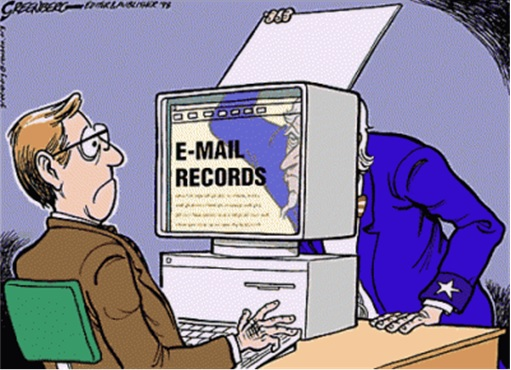 Government Watching Your Email Records