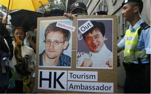 Hong Kong Welcome Edward Snowden Get Rid of Jackie Chan