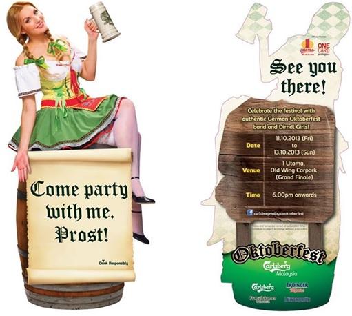 Malaysia Oktoberfest Invitation
