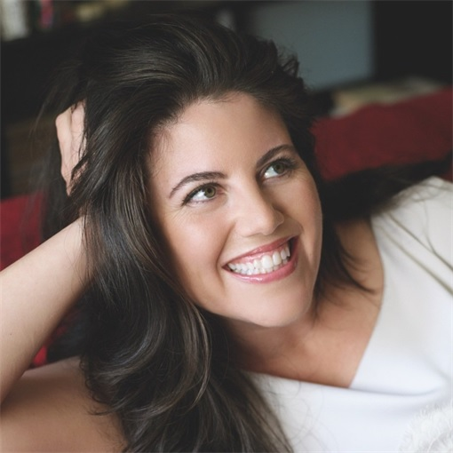 Monica Lewinsky on Couch