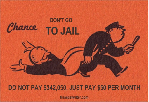 Monopoly - Don't Pay, Don't Go To Jail
