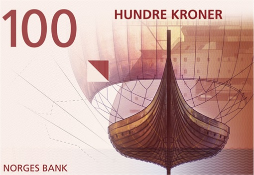 Norway New Bank Note - Snapshot 100 Kroner