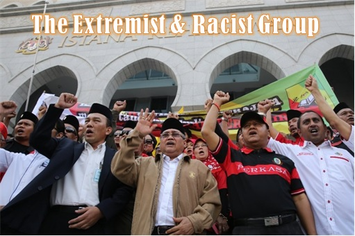 Perkasa Extremist and Racist Group