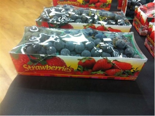 Product Packaging Fails - Strawberry Grapes