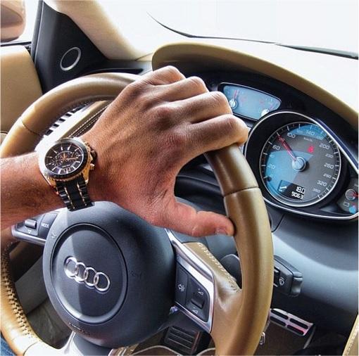 Rich Kids Of Tehran - Driving Audi R8 in Tehran