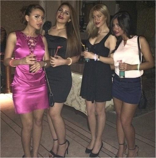 Rich Kids Of Tehran - Girls Partying