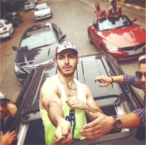 Rich Kids Of Tehran - Guys Selfies on Cars