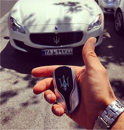 Rich Kids Of Tehran - Holding Maserati Car Keys