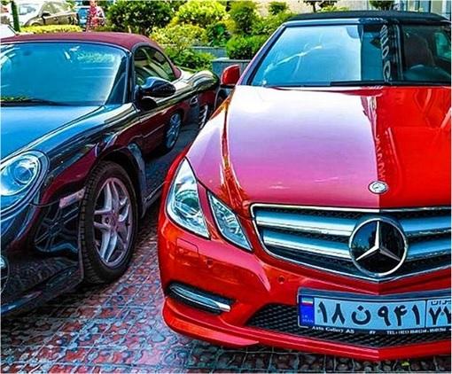 Rich Kids Of Tehran - Mercedes and Porsche