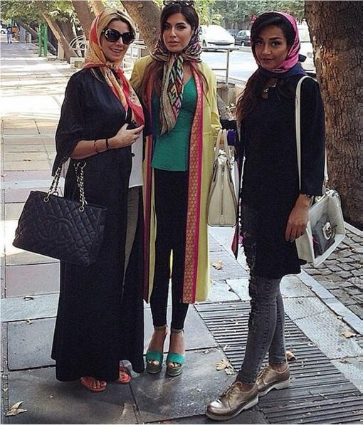 Rich Kids Of Tehran - Tehran Street Style Girls