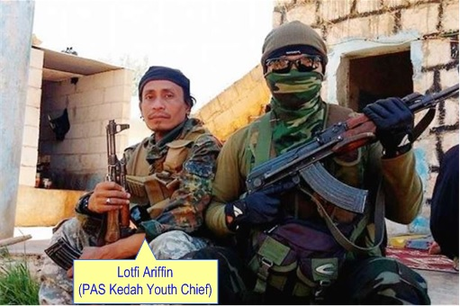 Sun Complex Bukit Bintang Grenades Attack - Jihadist Lotfi Ariffin at Syria