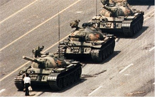 Tiananmen Square protest of 1989 - Tanks