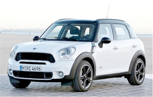 Top 20 Car Get Most Traffic Tickets - MINI Cooper S Countryman