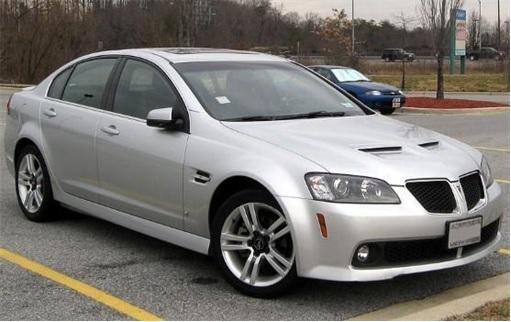 Top 20 Car Get Most Traffic Tickets - Pontiac G8