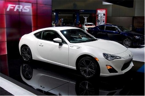 Top 20 Car Get Most Traffic Tickets - Scion FR-S