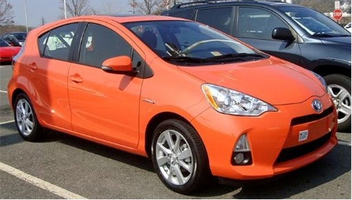 Top 20 Car Get Most Traffic Tickets - Toyota Prius C
