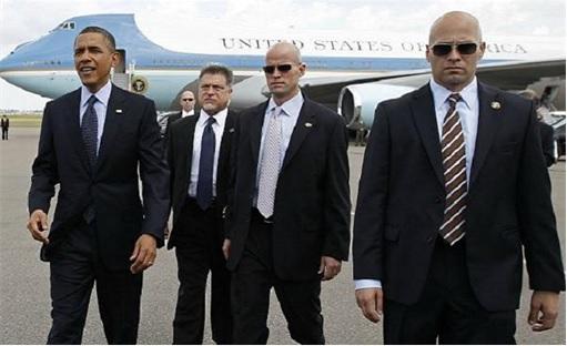 US Secret Service - President Obama and Secret Service