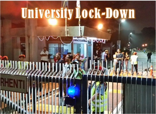 University Malaya - Lock Down