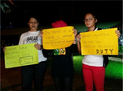 University Malaya - Students Holding Cards