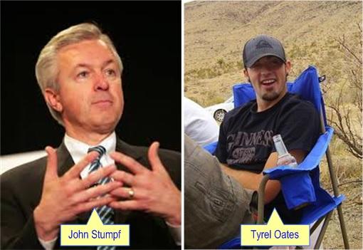 Wells Fargo Tyrel Oates and CEO John Stumpf