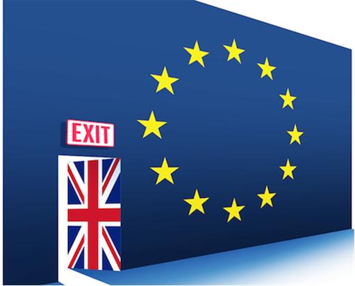 Britain UK Exit European Union EU - Door