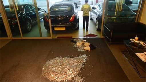 Coins Smelled of Fish on Exotic Motor Carpet - 1