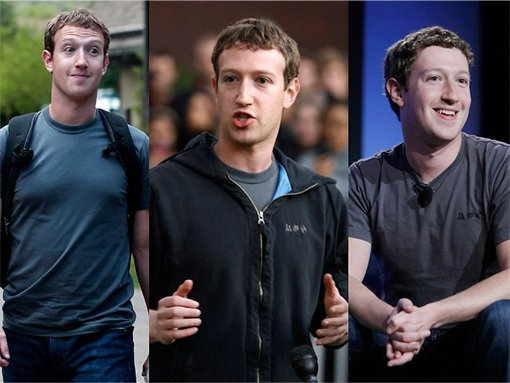Facebook Mark Zuckerberg Wears Same Gray T-Shirt - 2