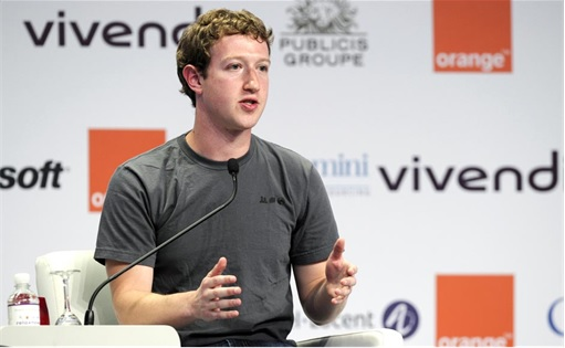 Facebook Mark Zuckerberg Wears Same Gray T-Shirt - 3