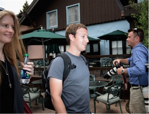 Facebook Mark Zuckerberg Wears Same Gray T-Shirt - 4