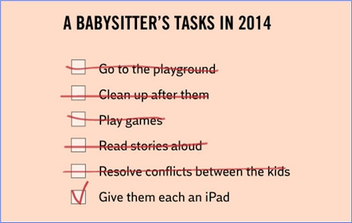 Hilarious But True Graph - A Babysitter Task 2014