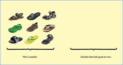 Hilarious But True Graph - Men's Sandal