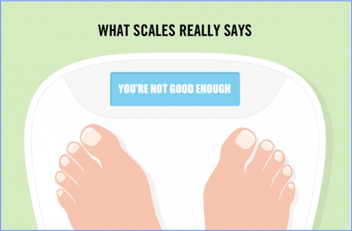Hilarious But True Graph - What Scales Really Says