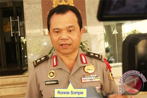 Indonesian Inspector General Ronny Sompie