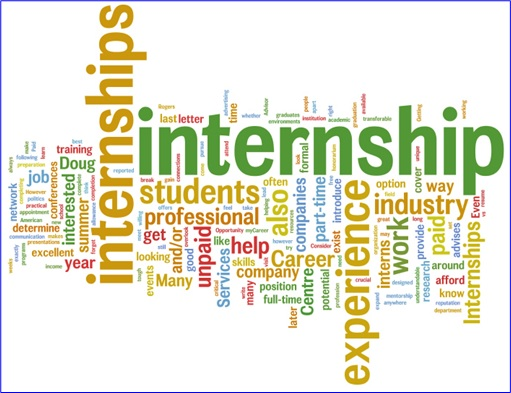 Internships Cross Words