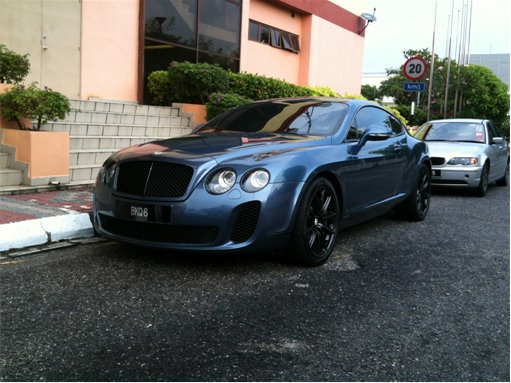 Lee Chong Wei Car - Bentley Continental GT1