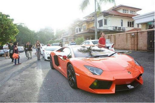 Lee Chong Wei Car - Lamborghini Aventador
